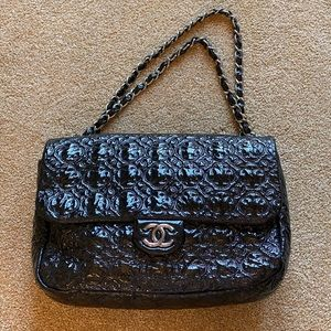 Limited Edition Patent Leather black Chanel bag